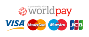 Payments Powered by WordPay, We accept Visa, Mastercard, JCB, Maestro